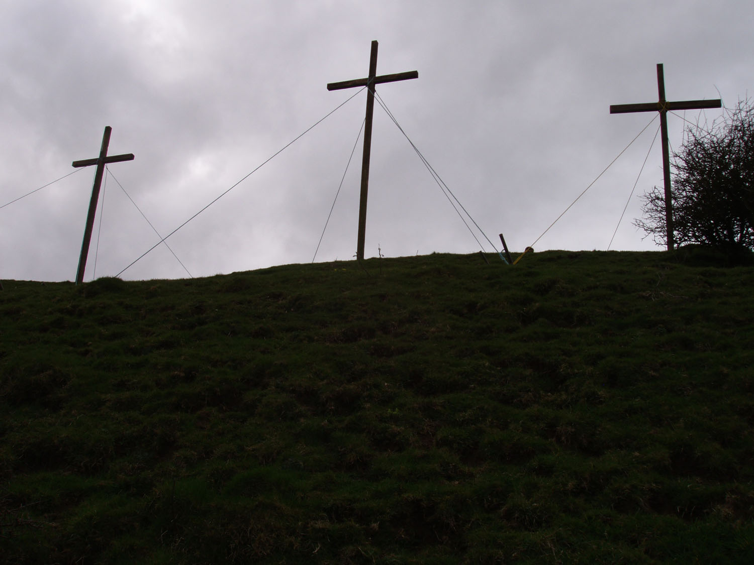 The three crosses on the Knoll.